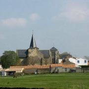 Sallertaine (Vendée) L'église Saint Martin ancienne