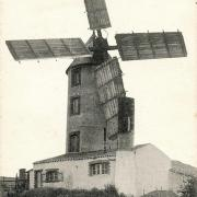 Sallertaine (Vendée) Le moulin Arnaudeau CPA