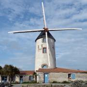 Sallertaine (Vendée) Le moulin de Rairé