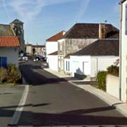 Sallertaine (Vendée) Rue de Verdun en 2010