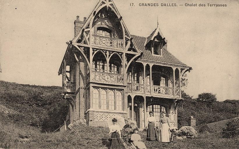 Les Grandes-Dalles, un chalet CPA