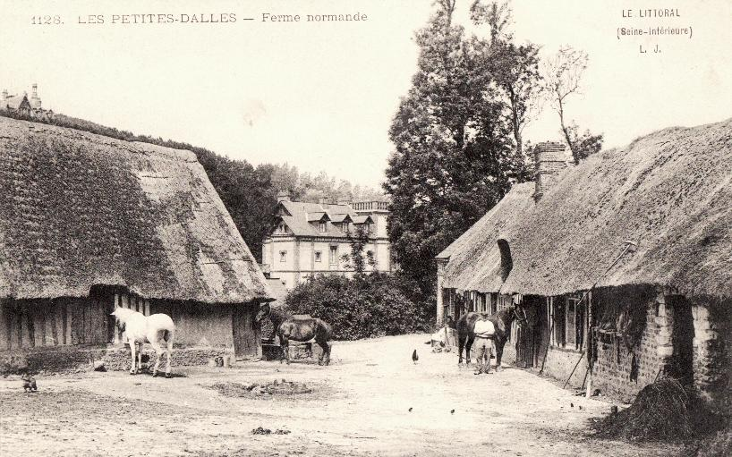 Les Petites-Dalles, une ferme CPA