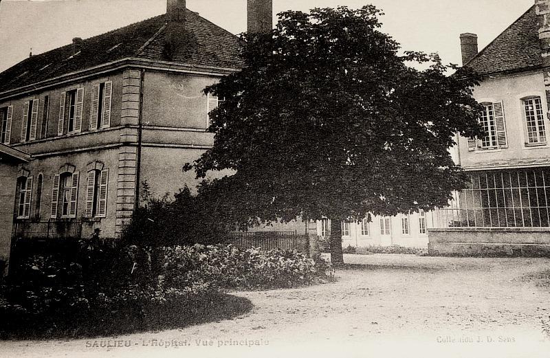 Saulieu (Côte d'Or) L'Hôpital CPA