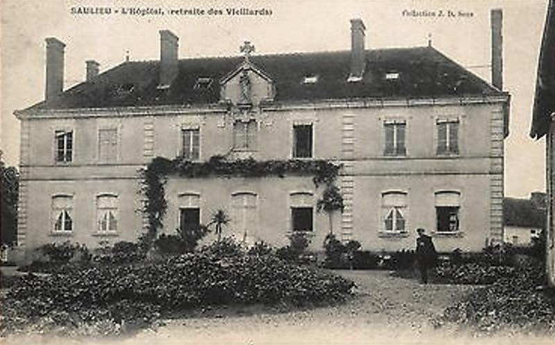 Saulieu (Côte d'Or) L'Hospice CPA