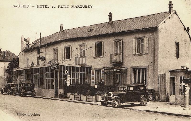 Saulieu (Côte d'Or) L'Hôtel du petit Marguery CPA