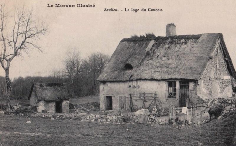 Saulieu (Côte d'Or) La Loge du Coucou CPA