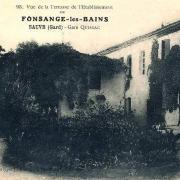 Sauve (Gard) CPA Fonsanges-les-Bains