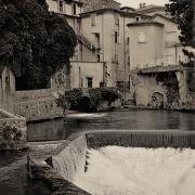 Sauve (Gard) CPA La fontaine