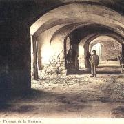 Sauve (Gard) CPA Le passage de la Fusterie