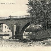 Sauve (Gard) CPA Le Pont Neuf
