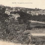Sauve (Gard) CPA Vue générale