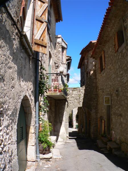 Sauve (Gard) La rue du Travers