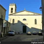 Sauve (Gard) L'église Saint Pierre