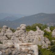 Sauve (Gard) La Mer de Rochers