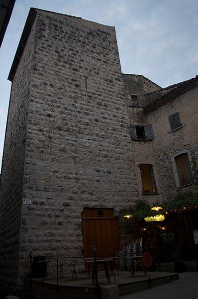 Sauve (Gard) La tour des Bermond