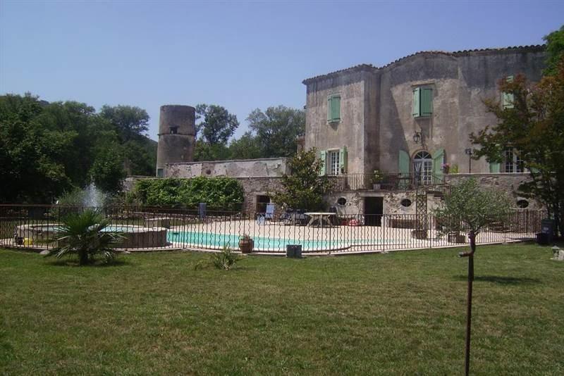 Sauve (Gard) Le château Lévesque en 2015