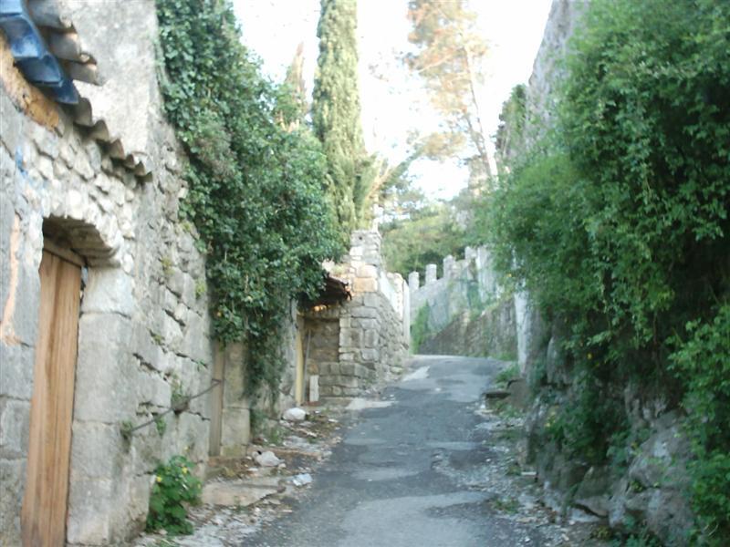 Sauve (Gard) Les ruines du château russe