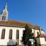 Schnersheim 67 avenheim l eglise saint ulrich