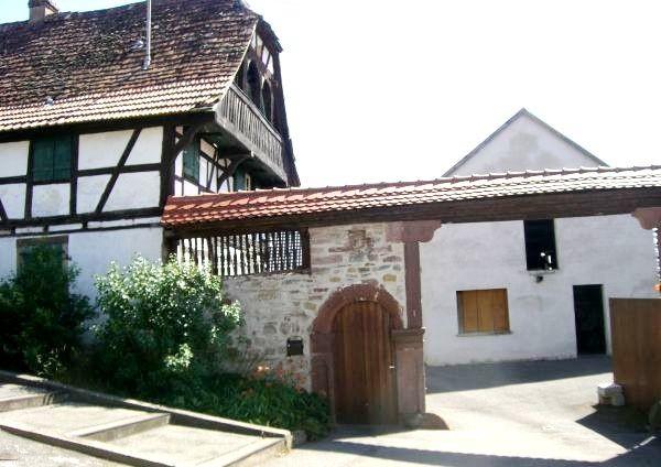 Schnersheim 67 kleinfrankenhaim la ferme 1 place saint ulrich