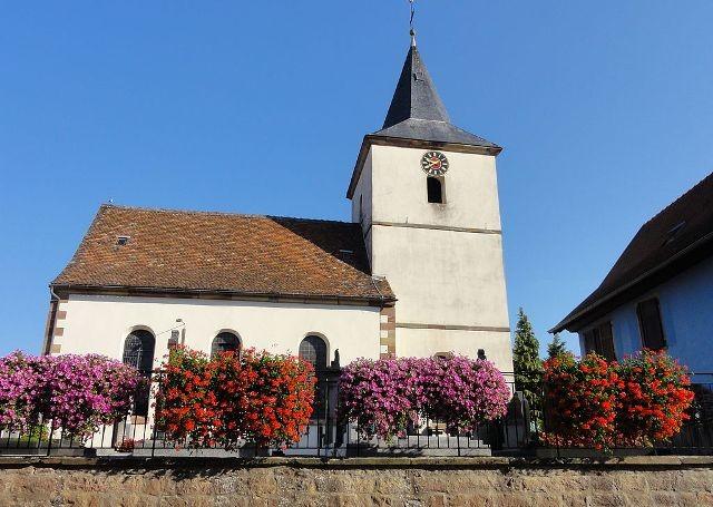 Schnersheim 67 kleinfrankenheim l eglise saint georges