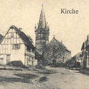 Schnersheim 67 l eglise saint etienne cpa