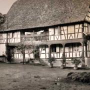 Schnersheim 67 la ferme s jungrote vers 1960 cpa