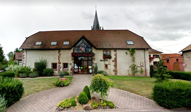Schnersheim 67 la mairie