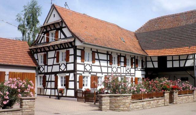 Schnersheim 67 une ferme du xviiieme siecle