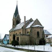 Schwindratzheim 67 l eglise catholique