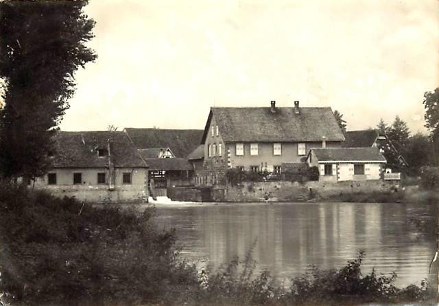 Schwindratzheim 67 le moulin cpa