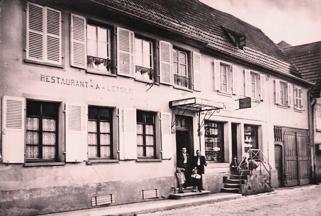 Schwindratzheim 67 le restaurant de l etoile cpa