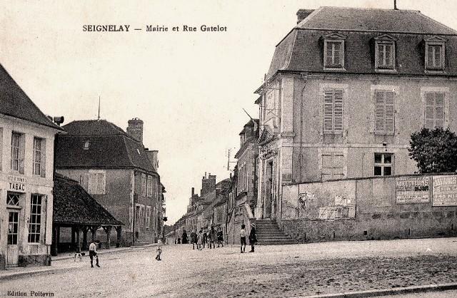 Seignelay (89) La Mairie CPA
