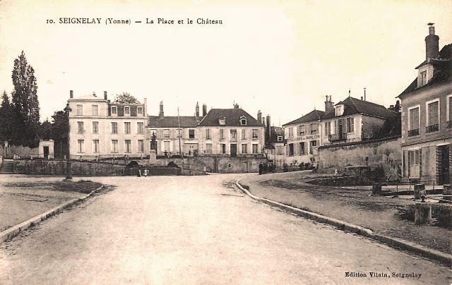 Seignelay (89) La Place CPA