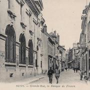 Sens (89) La Grande Rue CPA