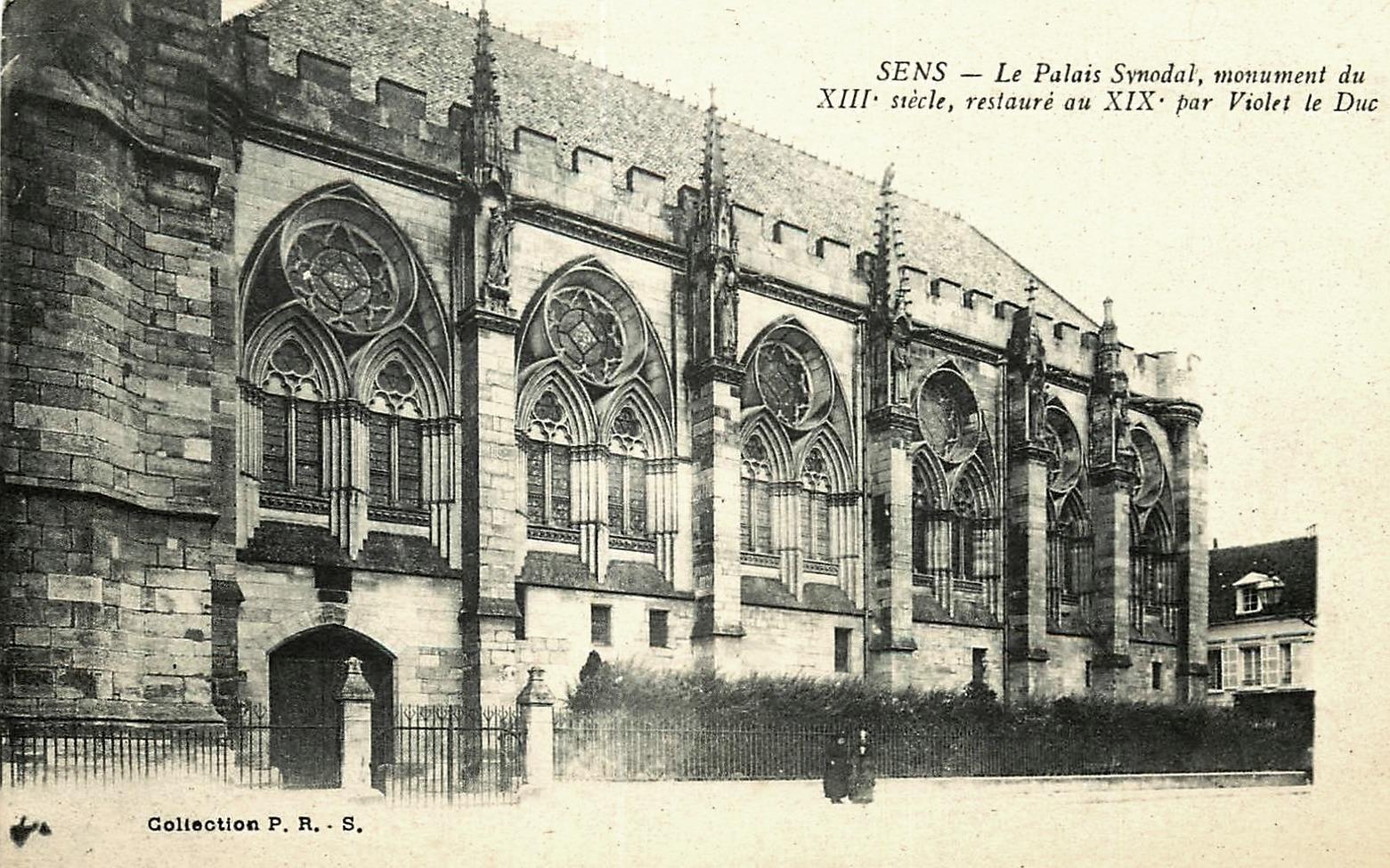 Sens (89) Le palais synodal CPA