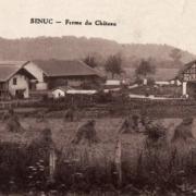 Senuc (08) La ferme du château CPA