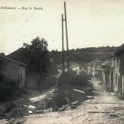 Senuc (08) La rue Saint-Oricle CPA
