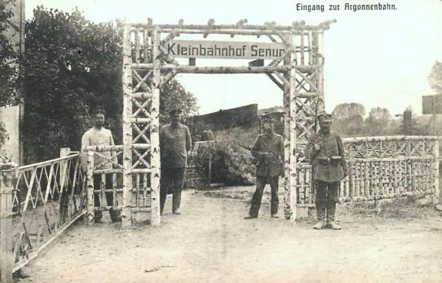 Senuc (08) Pont du chemin de fer CPA