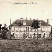 Seranvillers forenville 59 le chateau de seranvillers cpa