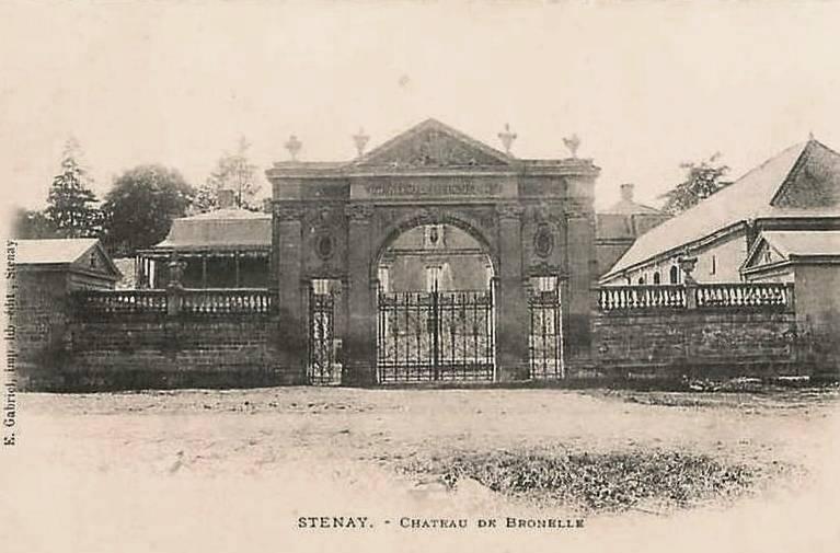 Stenay (Meuse) Bronelle, le château CPA