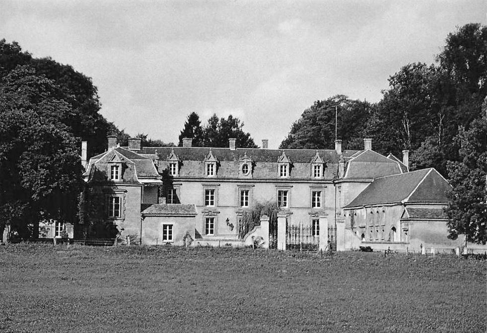 Stenay (Meuse) Bronelle, le château CPA