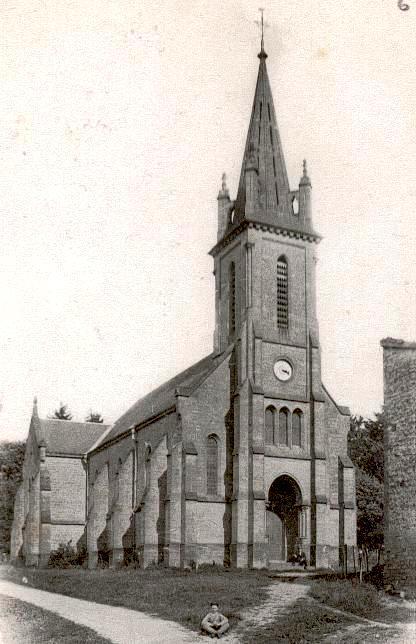 Stenay (Meuse) Cervisy, l'église Saint-Joseph