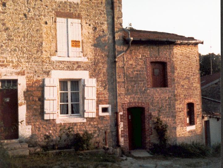 La maison de l'oncle Georges Soudan (1911/1985)