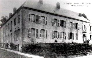 Stenay (Meuse) Cervisy, le château
