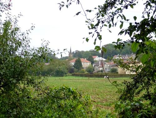 Stenay (Meuse) Cervisy, vue générale