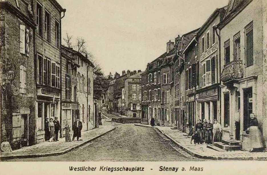 Stenay (Meuse) CPA