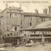 Stenay (Meuse) L'abreuvoir CPA