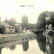 Stenay (Meuse) L'écluse CPA