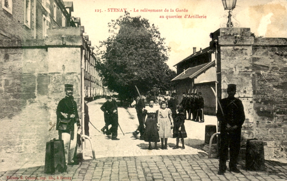 Stenay (Meuse) La caserne CPA