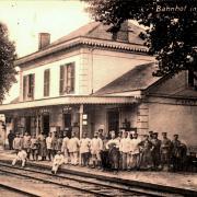 Stenay (Meuse) La gare CPA